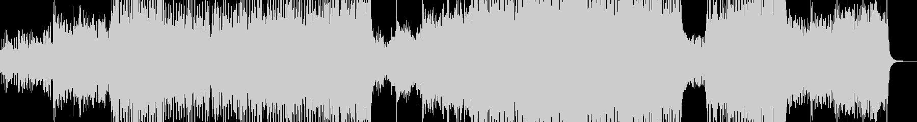 カラフルでメルヘンなテクノポップ Lの未再生の波形
