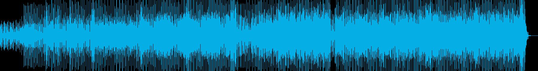 都会的なテクノ エレキギター無・短尺の再生済みの波形