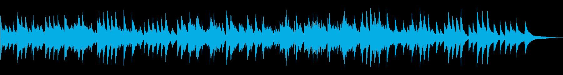 落ち着いたジャズラウンジピアノソロの再生済みの波形