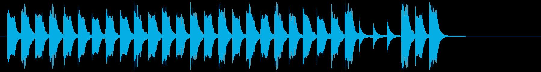 ピアノと木琴による絵本の世界の再生済みの波形