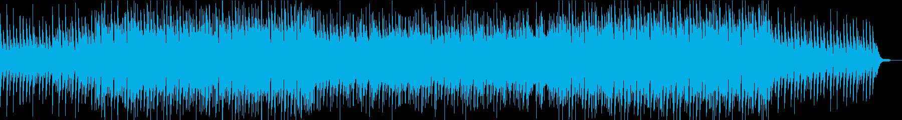 ピアノとアコギの爽やかなポップスaの再生済みの波形
