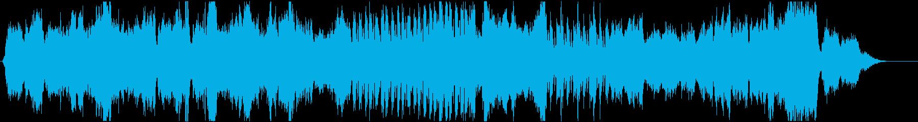秋/ほのぼの/神秘的/森/オーケストラの再生済みの波形