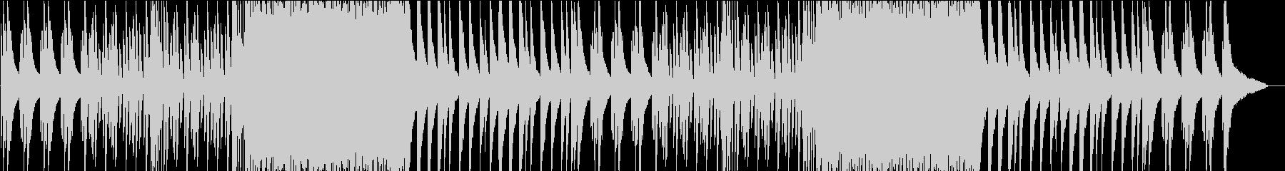 お洒落でジャジーなピアノBGMの未再生の波形