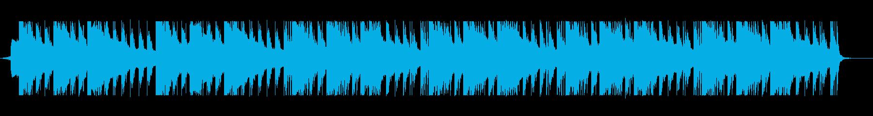 少し悲しい感じのテクノポップ CMやVPの再生済みの波形