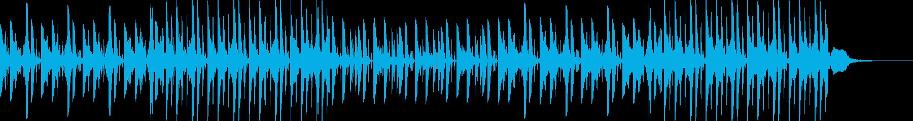 ユル系ノスタルジックなフレーズの再生済みの波形