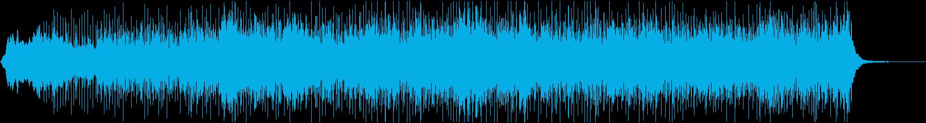 かっこいい・不気味な雰囲気のBGMの再生済みの波形