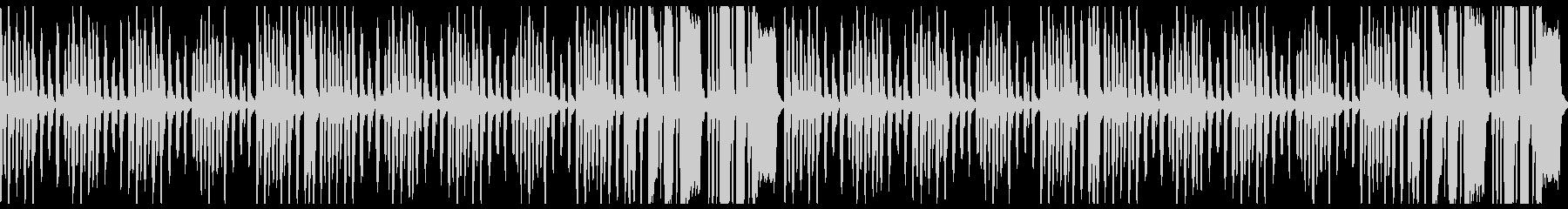 ほのぼのイメージのBGMループの未再生の波形