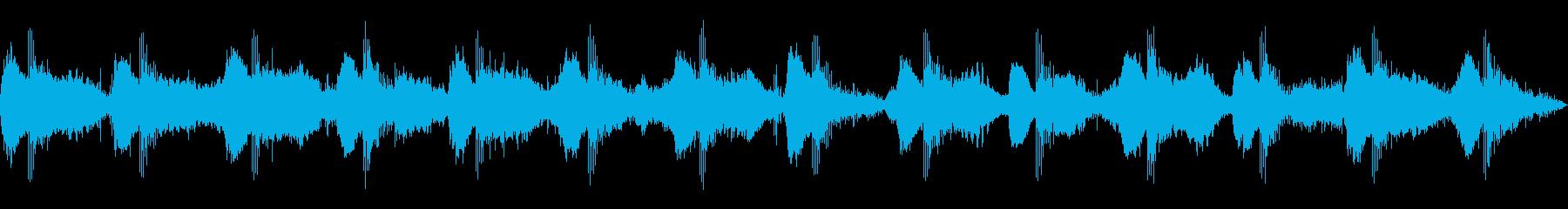 ヒーリングアンビエント_樹林_Aの再生済みの波形