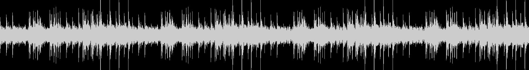 ハープの音色が切ない幻想的なBGMの未再生の波形