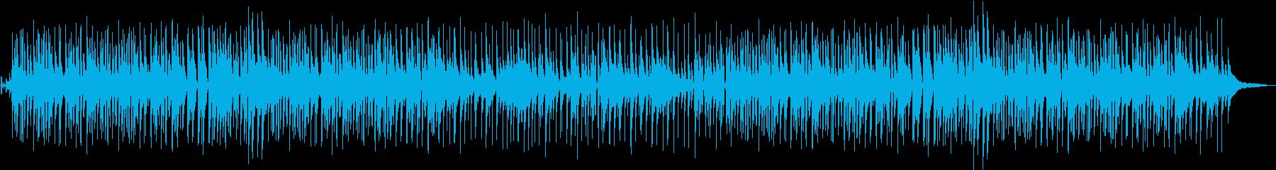 のんびりした印象のジャズトリオの再生済みの波形