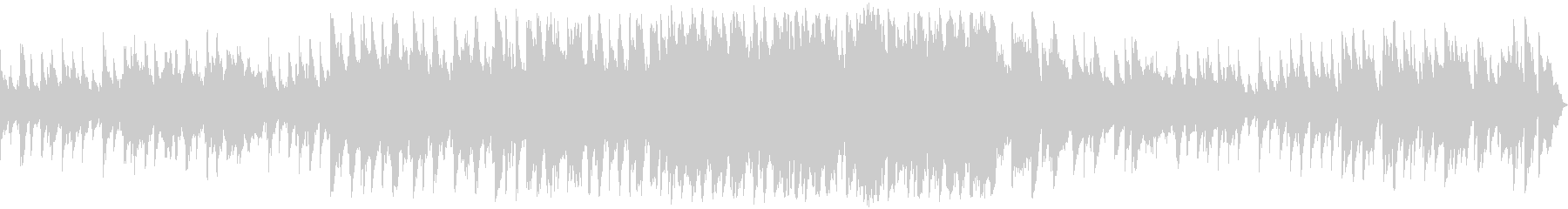 アイリッシュ風のBGMの未再生の波形