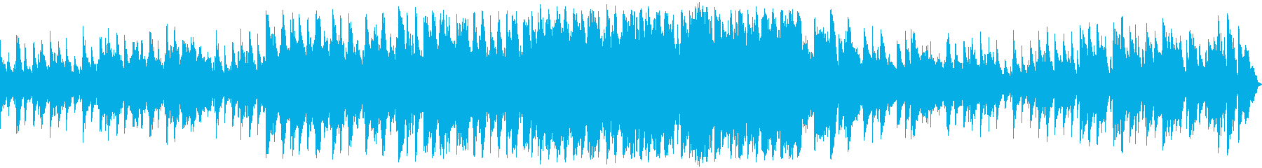 アイリッシュ風のBGMの再生済みの波形