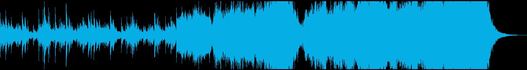不気味で重苦しいエレクトロ&オーケストラの再生済みの波形