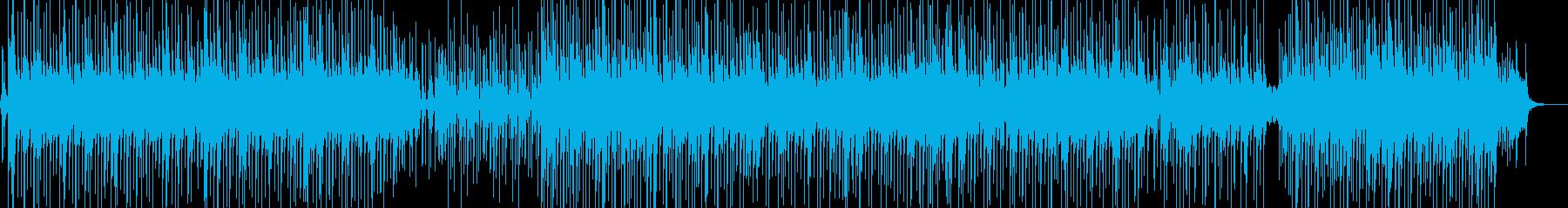 晴れやか・バカンスイメージのレゲェ ★の再生済みの波形