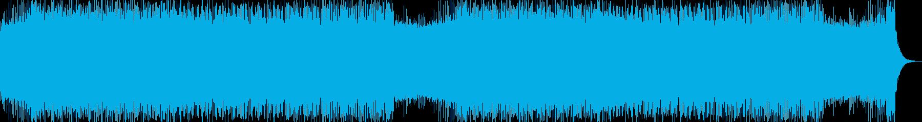 幻想的でかわいい雰囲気のエレクトロポップの再生済みの波形