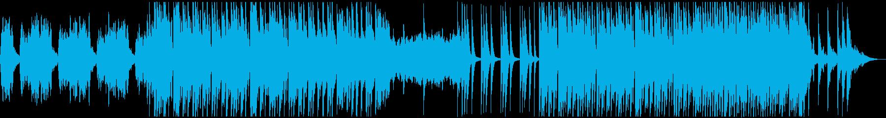アラビアンなあやしげ官能的なBGMの再生済みの波形