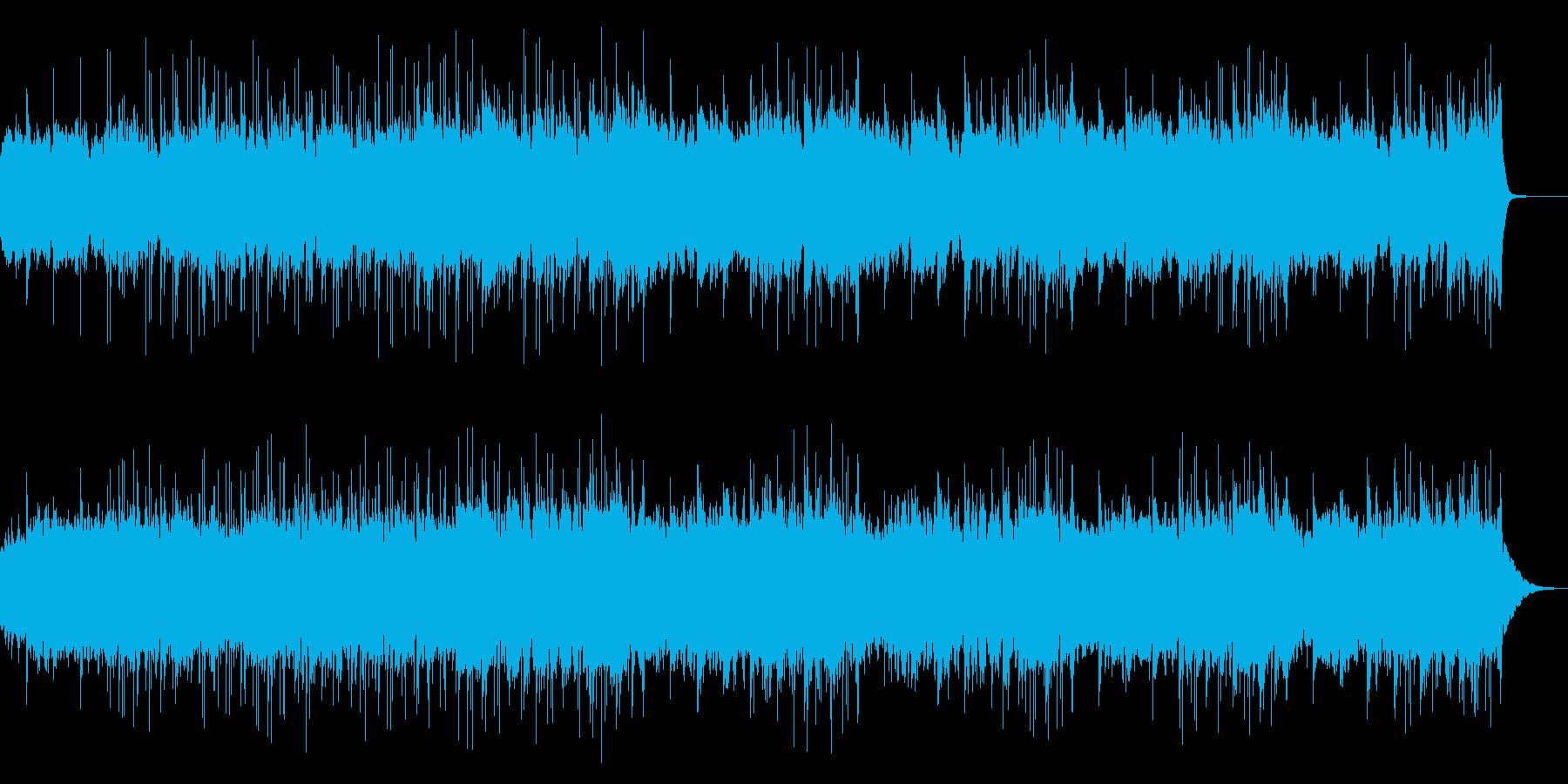 幻想的で浮遊感のあるクールなBGMの再生済みの波形