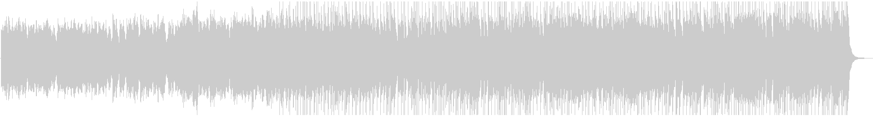 Fairy tale and elegant BGM's unreproduced waveform