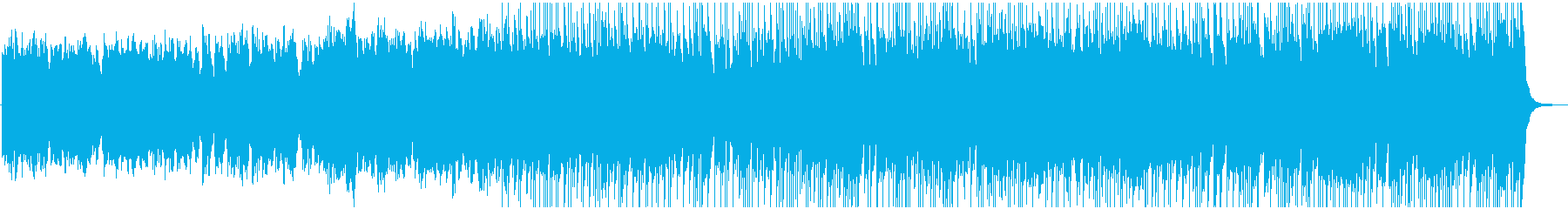 Fairy tale and elegant BGM's reproduced waveform