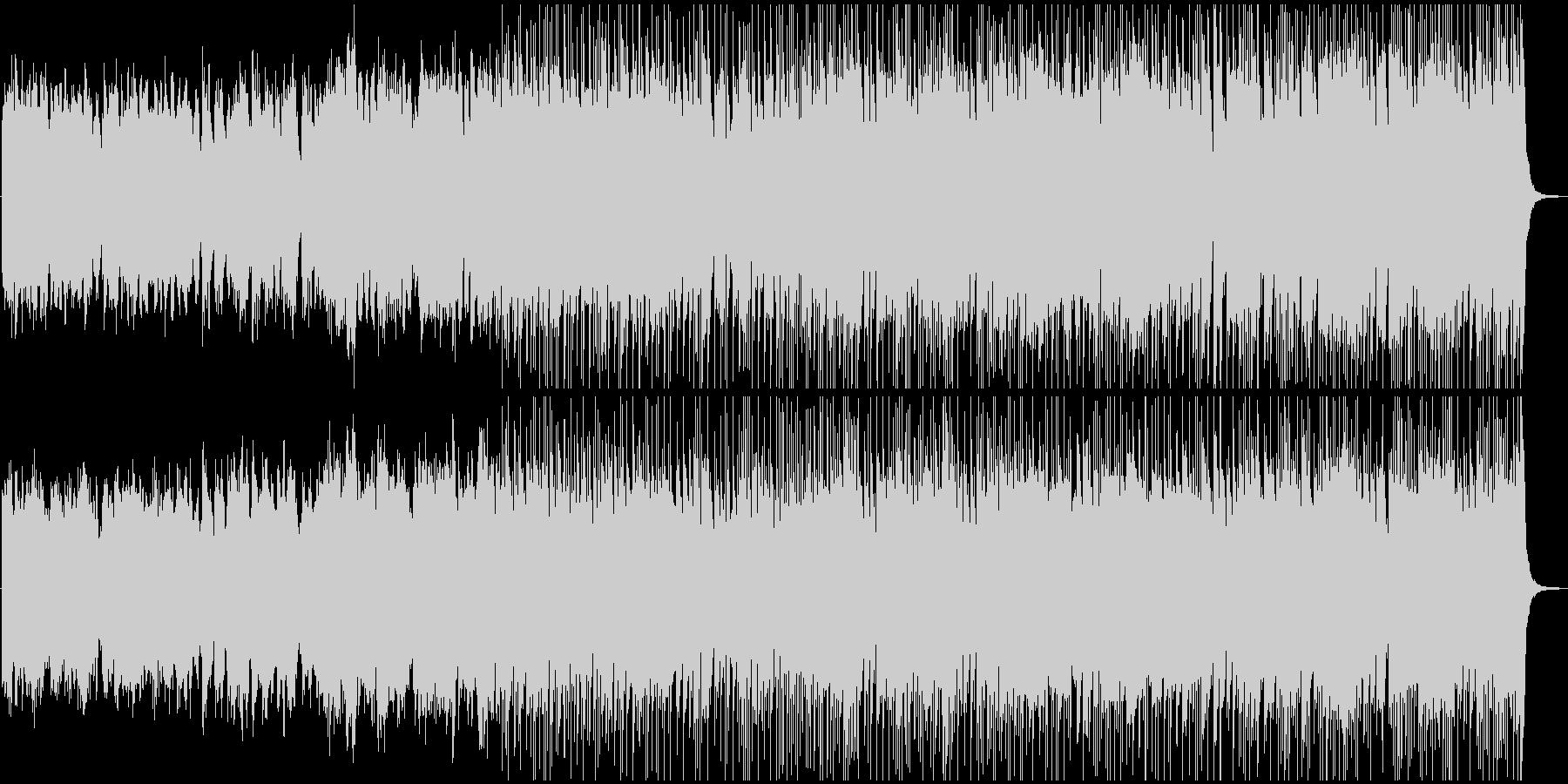 メルヘンチックで優美なBGMの未再生の波形