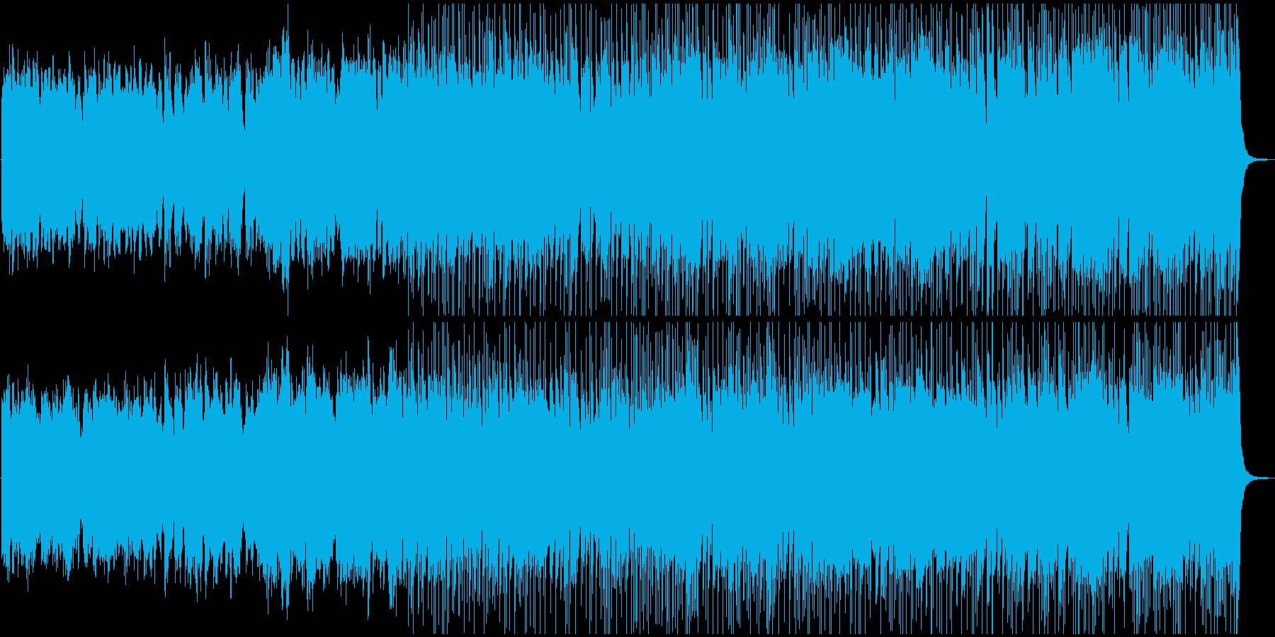 メルヘンチックで優美なBGMの再生済みの波形