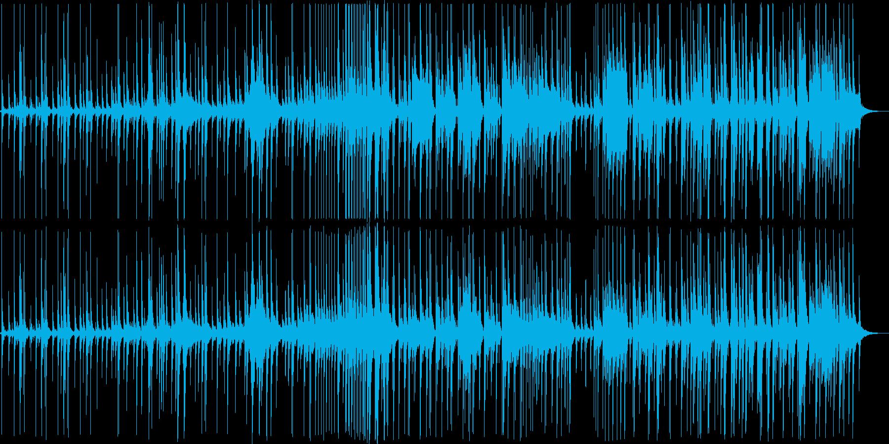 デュオサックス、ドラム。スイングと...の再生済みの波形