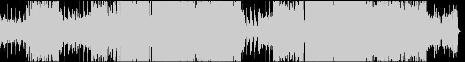幻想的ながらも不気味なドラムンベースの未再生の波形