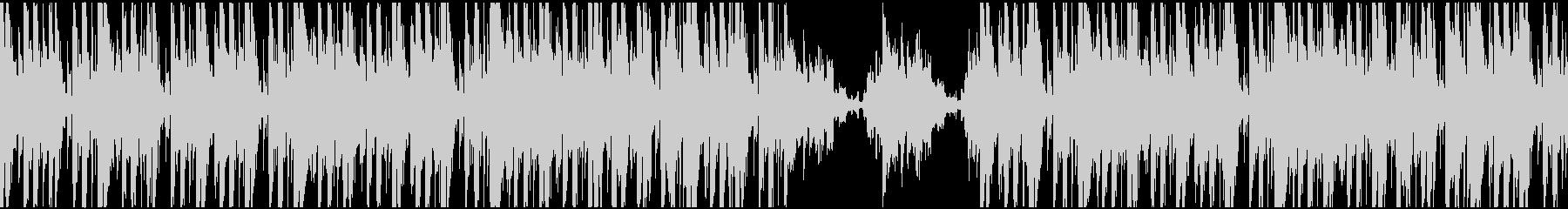 ジャジーなヒップホップのループの未再生の波形