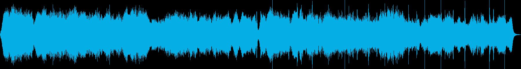 オーケストラ楽器の再生済みの波形
