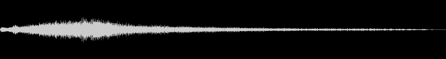 キラキラ残念登場A07の未再生の波形