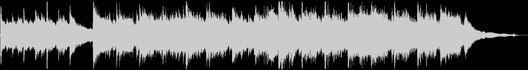 8bitシンセとアコギの切ないBGMの未再生の波形