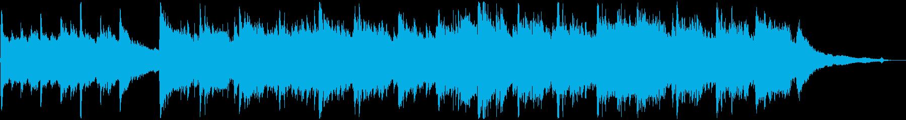 8bitシンセとアコギの切ないBGMの再生済みの波形