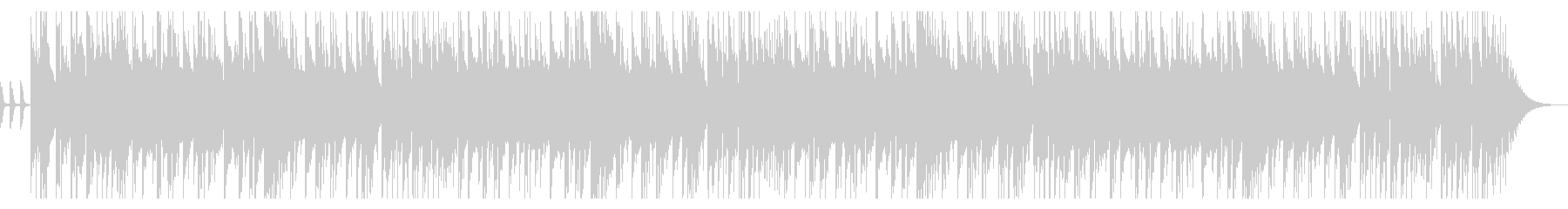 CMや動画にハードロックなベース&ドラムの未再生の波形