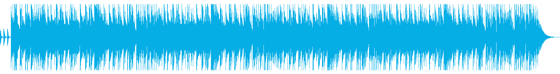 CMや動画にハードロックなベース&ドラムの再生済みの波形