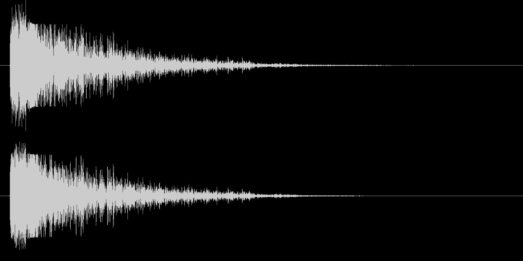 長い尾を持つ大爆発;メタルガーダー...の未再生の波形