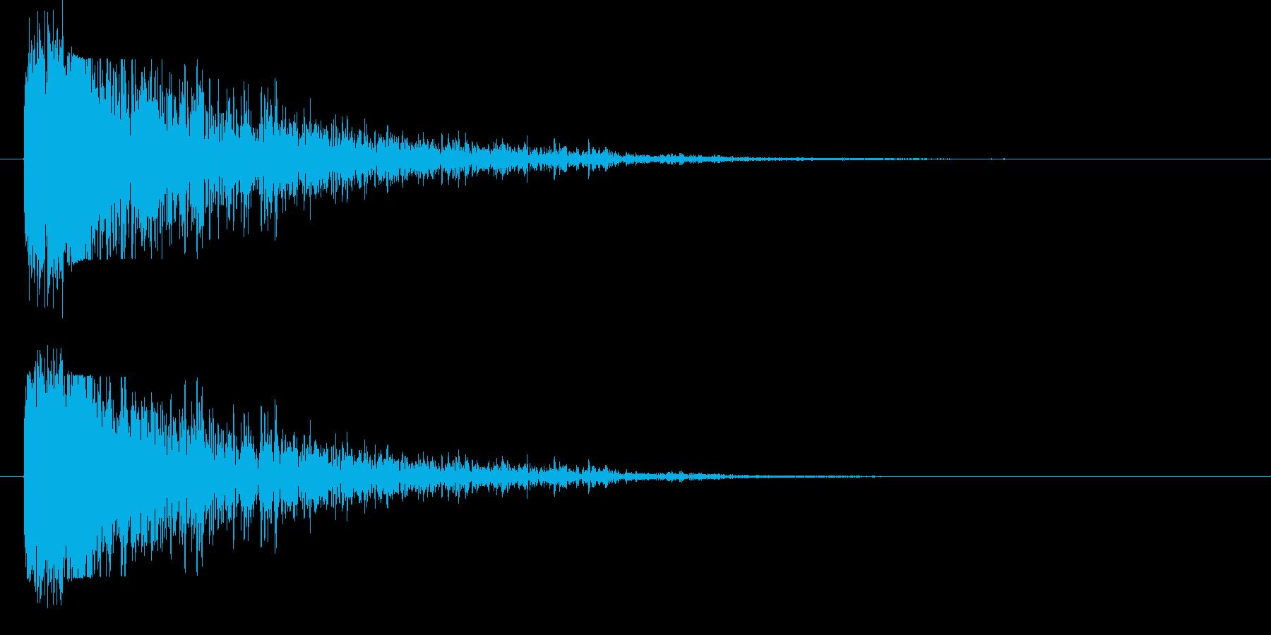 長い尾を持つ大爆発;メタルガーダー...の再生済みの波形
