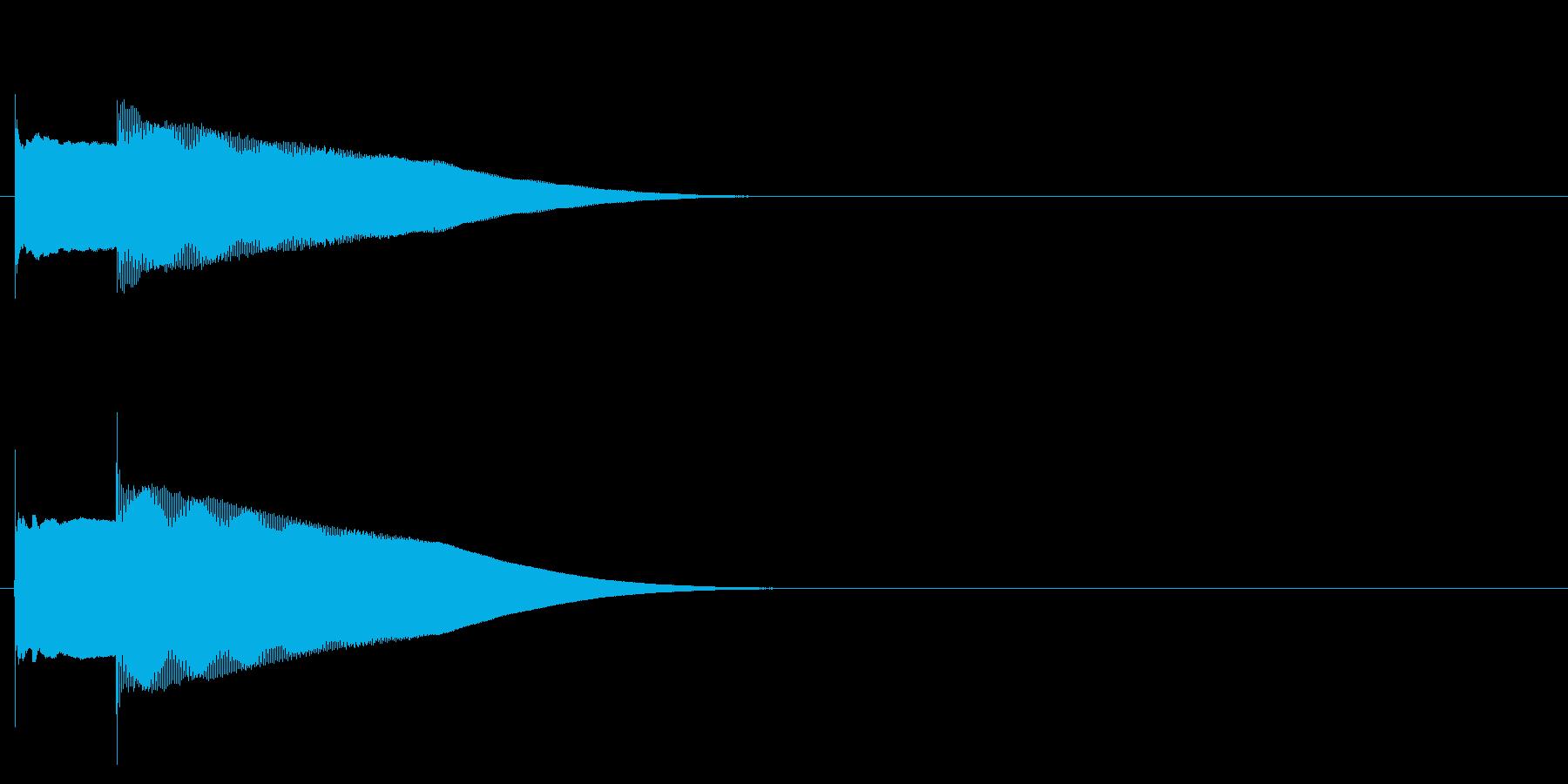グロッケン系 決定音04(小)の再生済みの波形