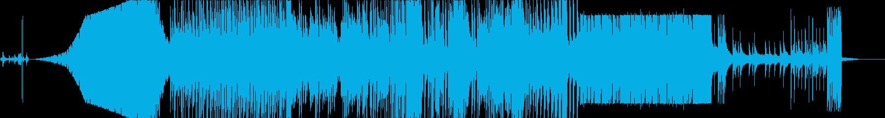 海の中をイメージした曲ですの再生済みの波形