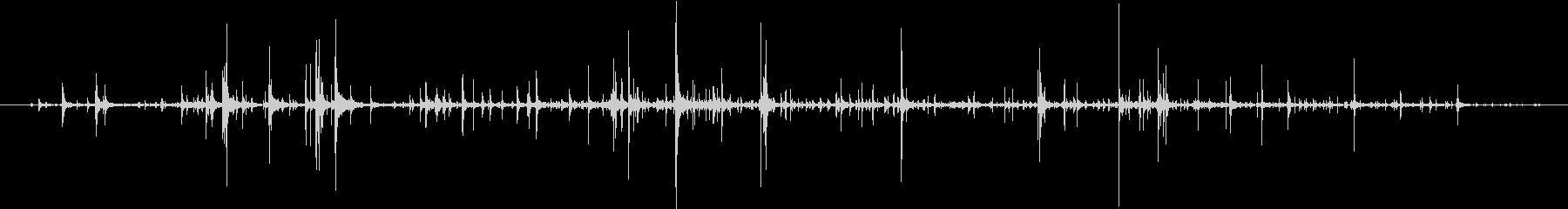 【生録音】弁当・惣菜パックの音 7の未再生の波形