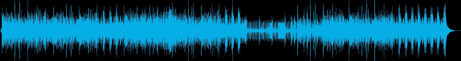コンガ入り爽やかなピアノJAZZマンボの再生済みの波形