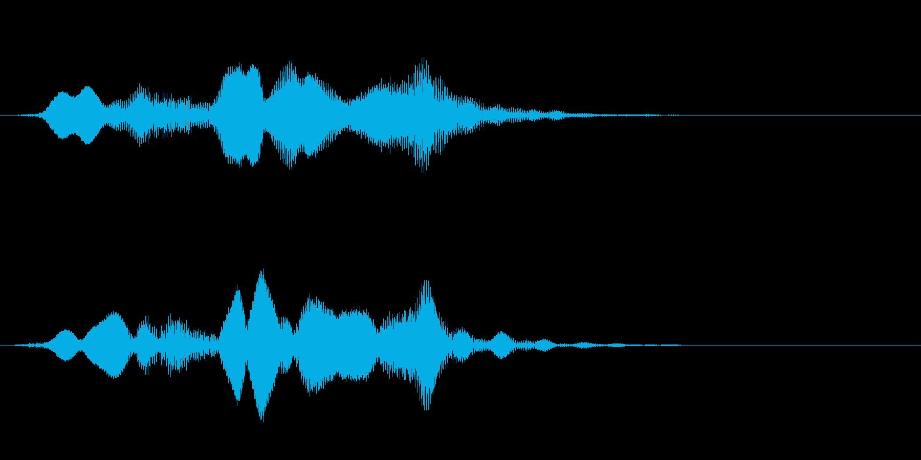 神秘的な電子バズウォッシュをLFE...の再生済みの波形