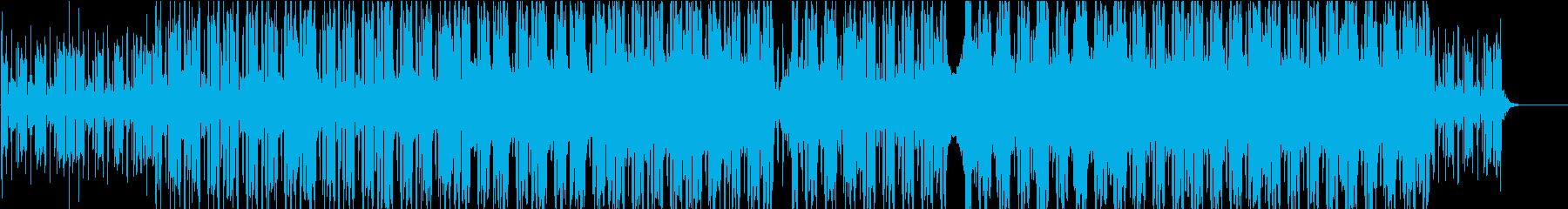 和風祭り風のメロディを持ったヒップホップの再生済みの波形