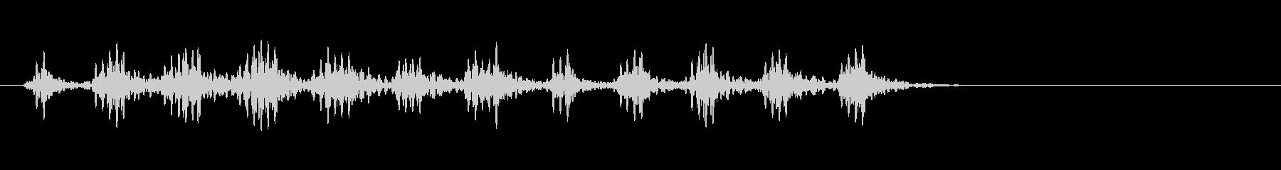 リリリ…虫の音の未再生の波形