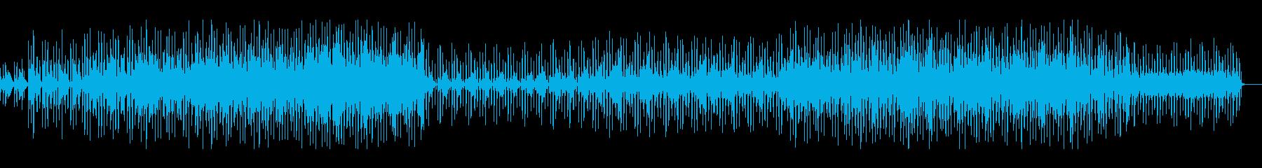 軽快、爽やかで少し切なさもある楽曲の再生済みの波形