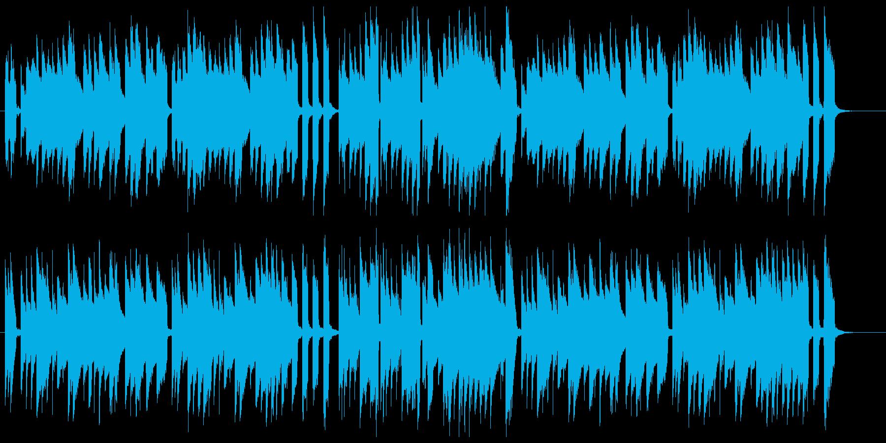 チェンバロによる高貴なバロック音楽の再生済みの波形
