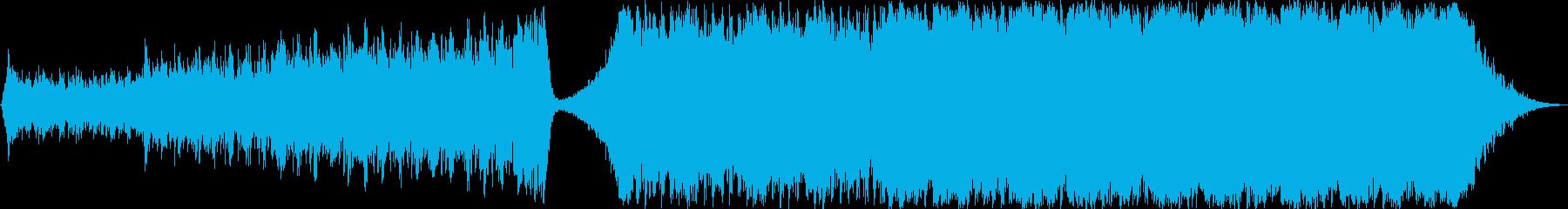 Action Radiusの再生済みの波形