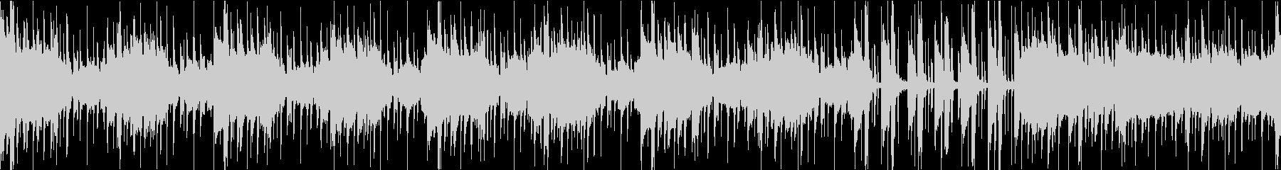 サスペンスなインスト(ループ)の未再生の波形