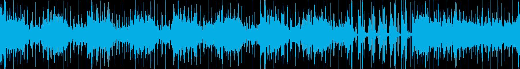 サスペンスなインスト(ループ)の再生済みの波形