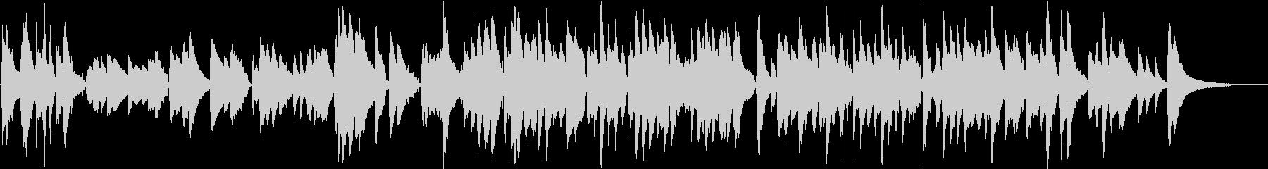 フランスパリのロマンチックなワルツ伴奏版の未再生の波形