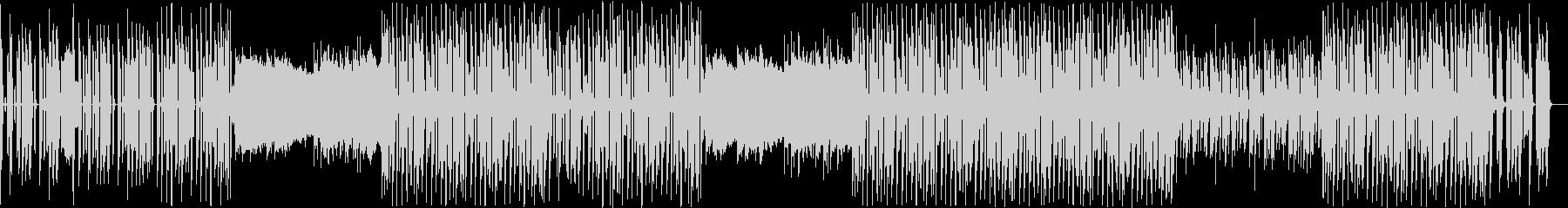キャッチーなアップテンポ KポップBGMの未再生の波形